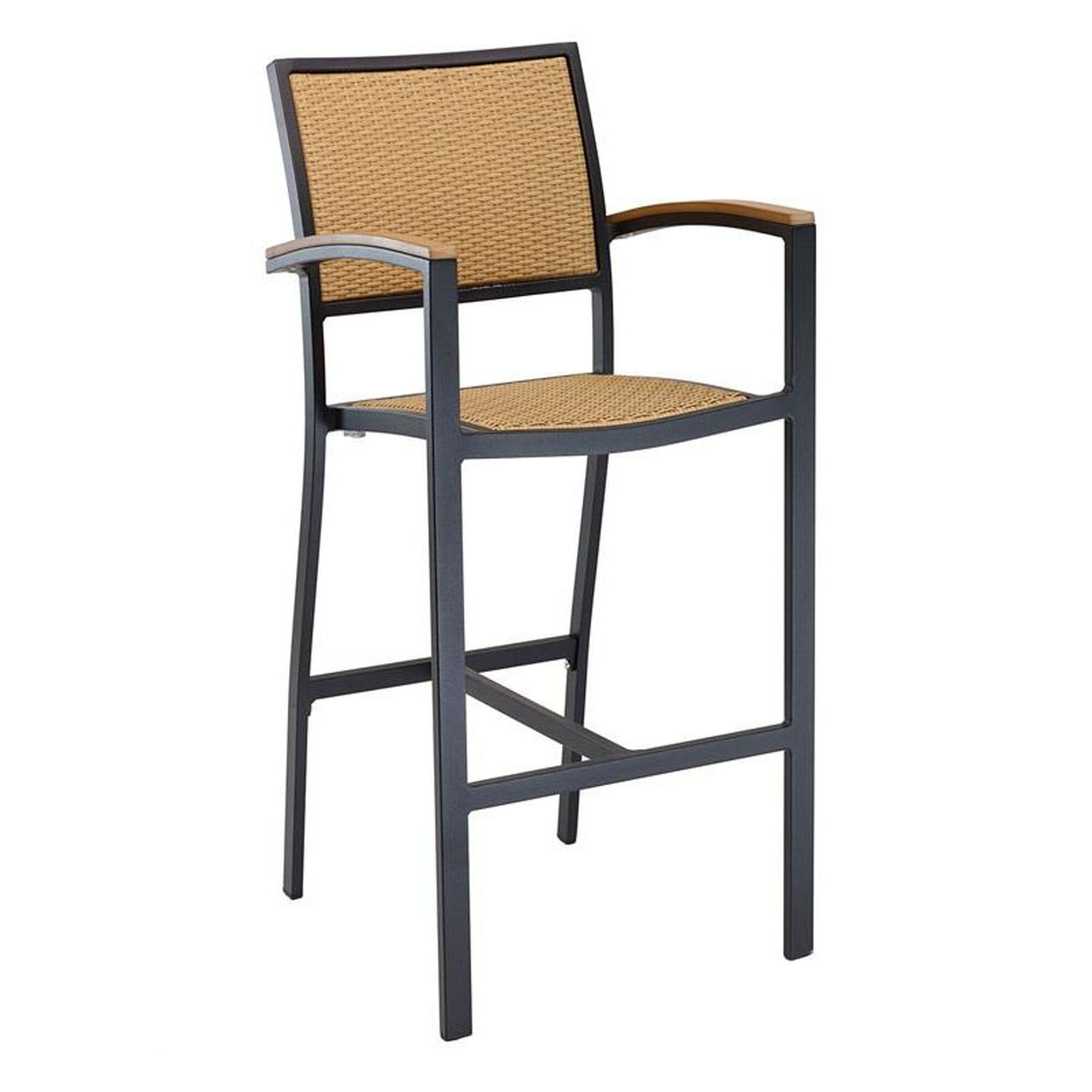 Outdoor Barstool With Arms Weave Bal 5625