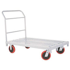Heavy Duty Steel Frame Platform Truck with 8