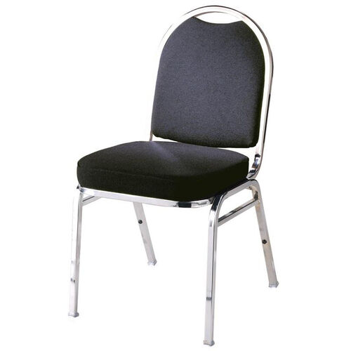 Our 500 Series Stacking Armless Hospitality Chair with Rounded Back and 3