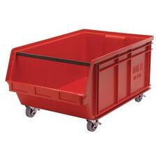 Magnum Mobile Stack Bins - Large - Red
