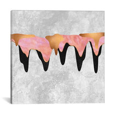 Pretty Color Drip I by Elisabeth Fredriksson Gallery Wrapped Canvas Artwork