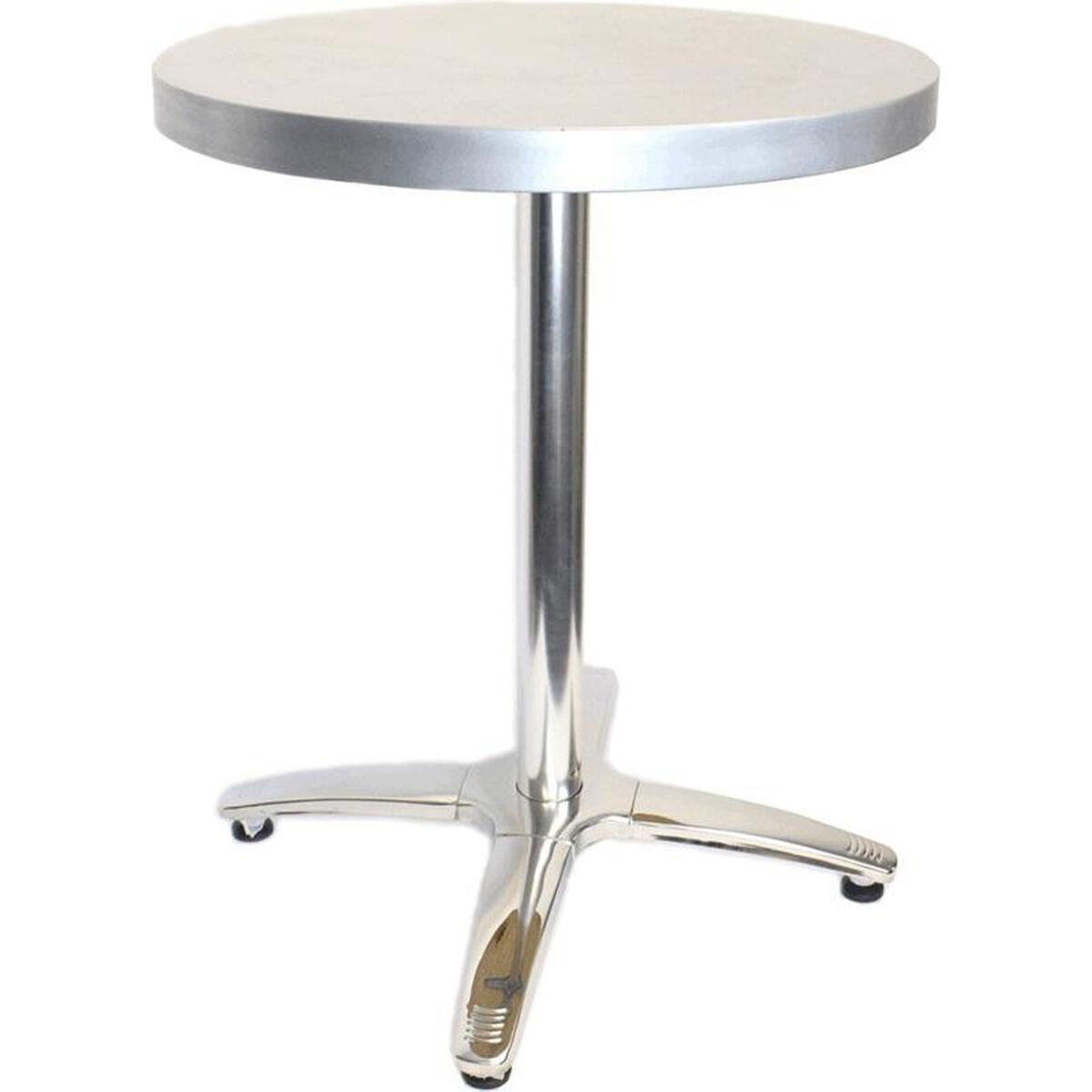 Round Zinc Cafe Table JC RestaurantFurnitureLesscom - Round metal cafe table