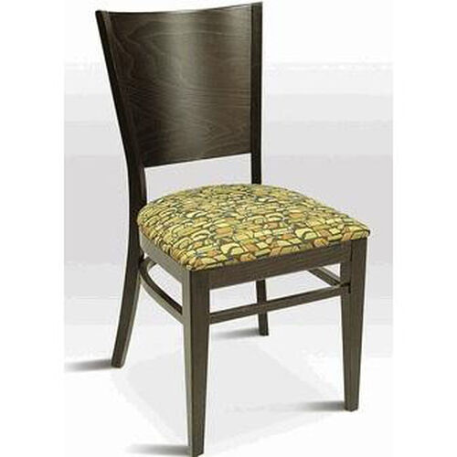 Our Classic Indoor Collection Beechwood Tapered Solid Back Side Chair is on sale now.