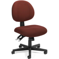24 Hour Task Chair - Burgundy