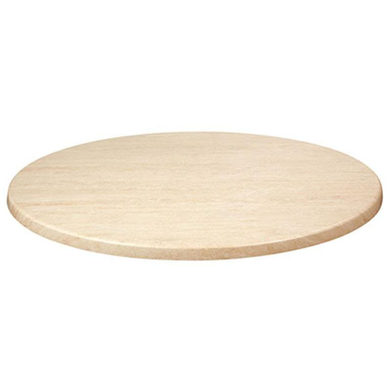 ... Our Topalit 36u0027u0027 Round Indoor/Outdoor Table Top   Travertine Is On Sale