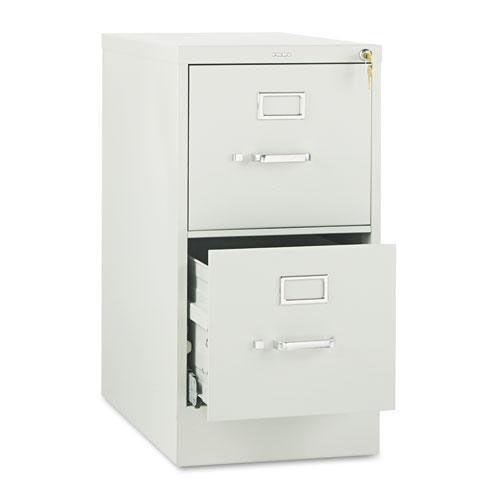 HON® 510 Series Two-Drawer Full-Suspension File - Letter - 29h x25d - Light Gray