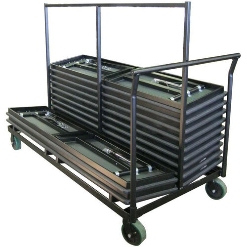 Our Heavy Duty Double Stacking Table Truck with Welded Steel Iron Construction - 36