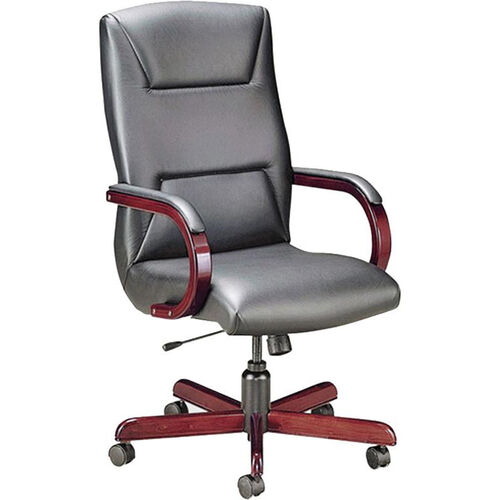 Our Quick Ship Quick Silver Executive Swivel Chair with Trapezoid Back Stitching is on sale now.
