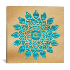Summer Mandala by Diego Tirigall Gallery Wrapped Canvas Artwork - 18