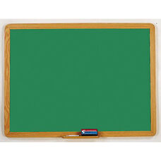 2900 Series Chalkboard with Wood Face Frame - 72