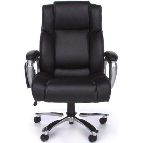 Our Oro Big & Tall Executive Tablet Conference Chair - Black Bonded Leather is on sale now.