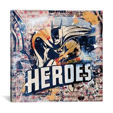 Heroes by Teis Albers Gallery Wrapped Canvas Artwork