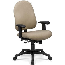 Desire Task Chair with High Backrest - Grade B