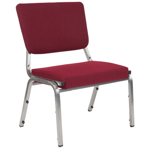 Our HERCULES Series 1500 lb. Rated Burgundy Antimicrobial Fabric Bariatric Antimicrobial Medical Reception Chair with 3/4 Panel Back is on sale now.