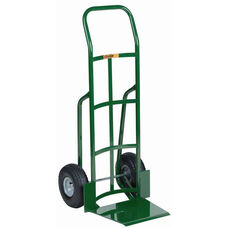 Industrial Strength Continuous Handle Shovel Nose Hand Truck - 47