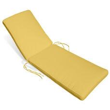 Miami Chaise Lounge Cushion -Buttercup
