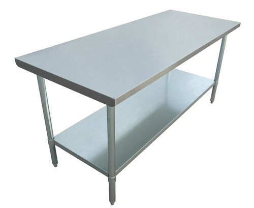 "Adcraft WT-3072-E 30""x72"" Stainless Steel Work Table"