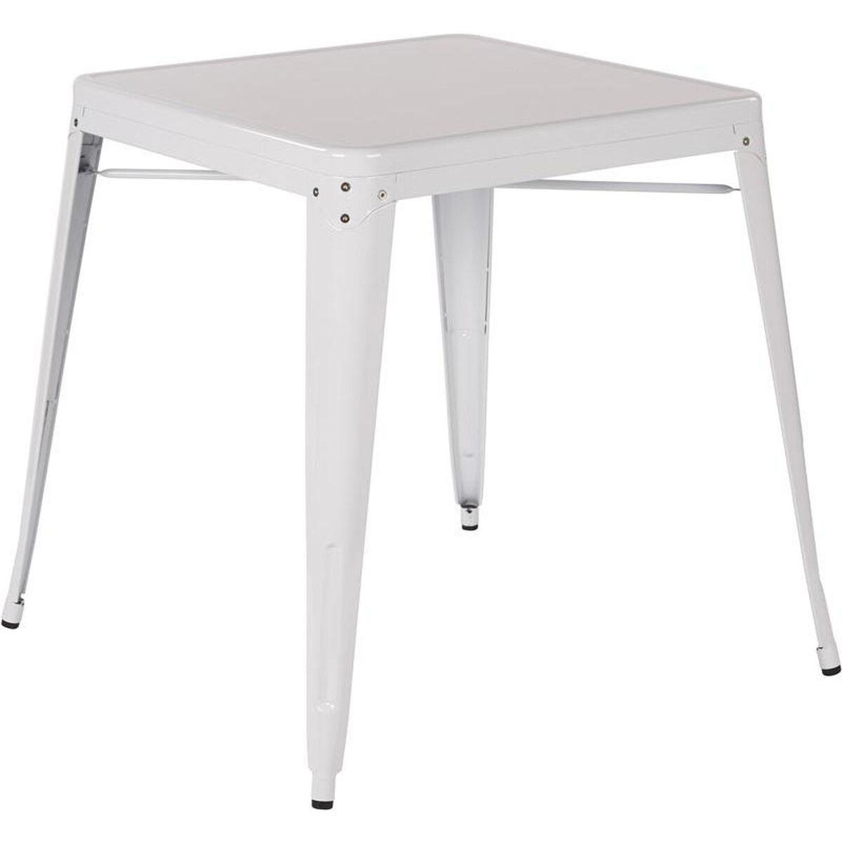 Patterson White Metal Table Ptr432 11