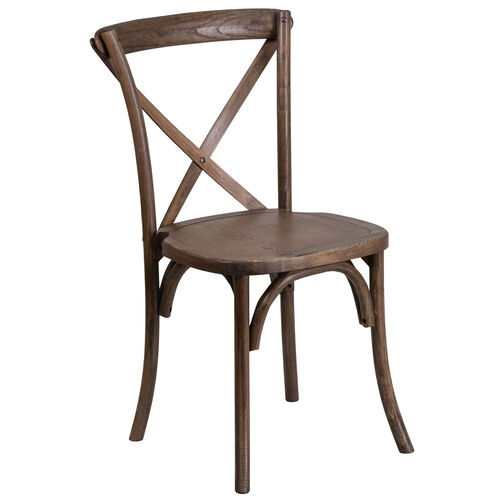 Our HERCULES Series Stackable Early American Wood Cross Back Chair is on sale now.