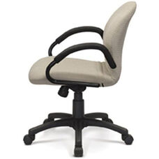Desire Monoshell Task Chair with Low Backrest - Grade B