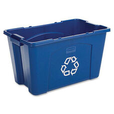 Rubbermaid Commercial Products Commercial 18 Gallon Recycling Box - 16