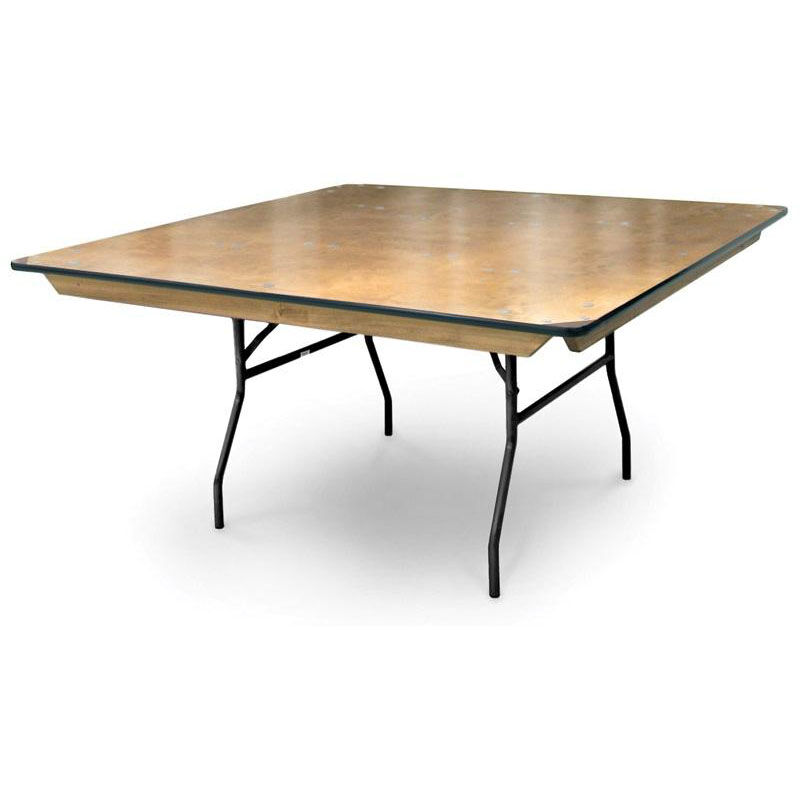 ... Our 36u0027u0027 Square Plywood Folding Table With Locking Wishbone Style Legs  Is On Sale ...