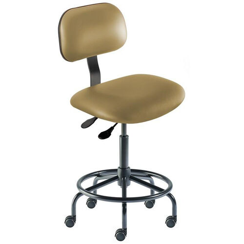 Our Quick Ship Bridgeport Series Chair with Adjustable Task Controls and Tubular Steel Base - Medium Seat Height is on sale now.