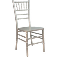 Advantage Champagne Wood Chiavari Chair