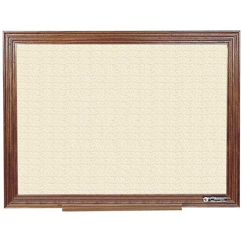 Our 114 Series Wood Frame Tackboard - Fabricork - 36