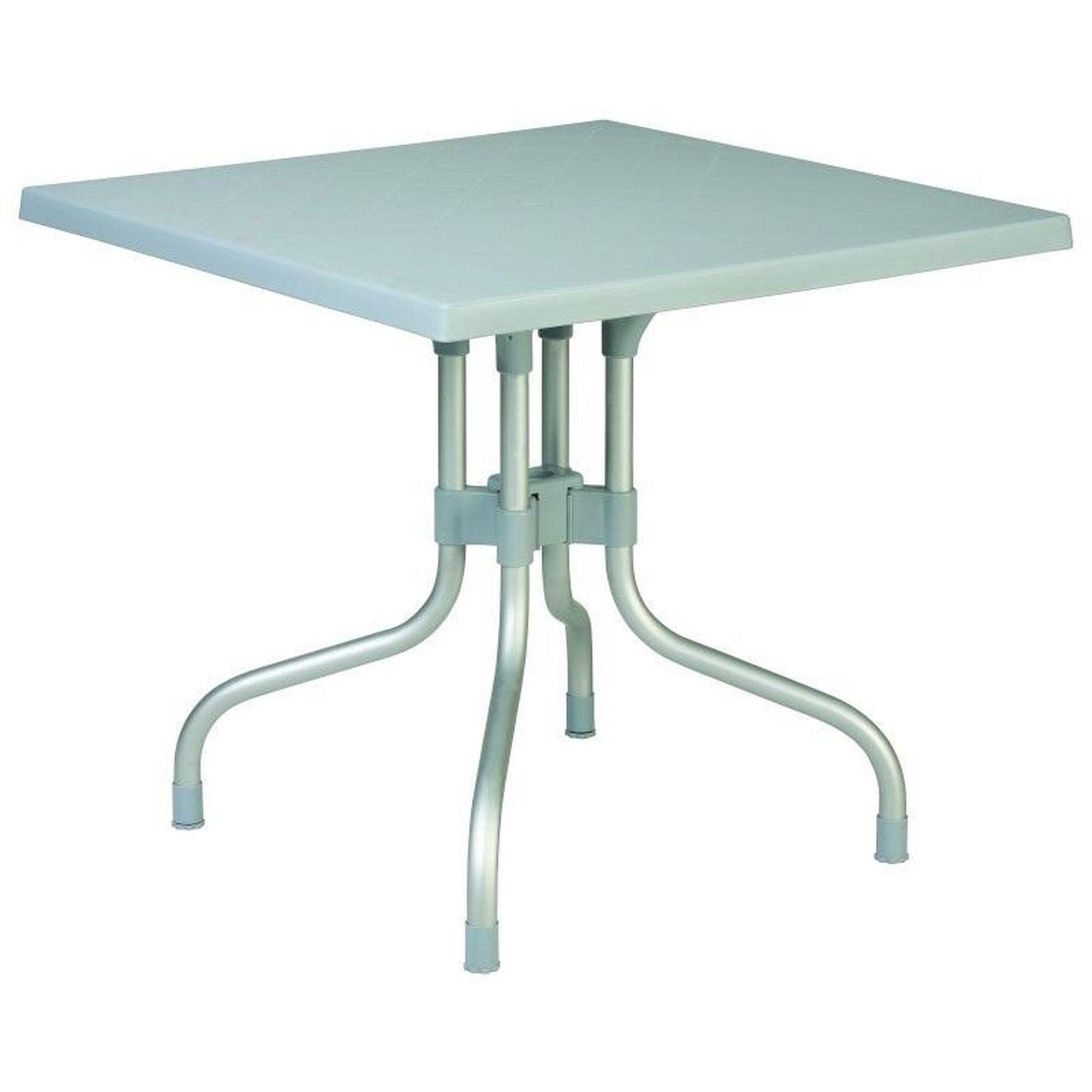 silver folding dining table isp770 sil. Black Bedroom Furniture Sets. Home Design Ideas