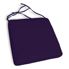 California Resin Wickerlook Chair Cushion Set of 4 - Navy Blue