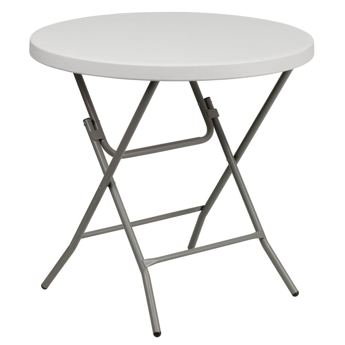 32rd White Plastic Fold Table Rb 32r Gw Gg