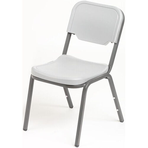 Our Rough N Ready Stack Chair - Set of Four - Platinum is on sale now.