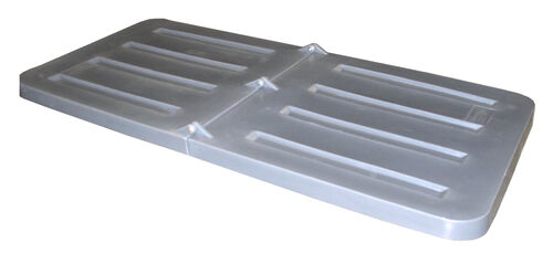 Our Bayhead Gray Lid for 1.1 Cubic Yard Tilt Trucks is on sale now.