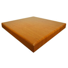 Cherry Resin Square Indoor Table Top