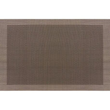 Set of 12 Cityscape 12'' x 18'' PVC Placemats - Taos Beige