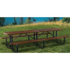 Rectangular Shelter Table