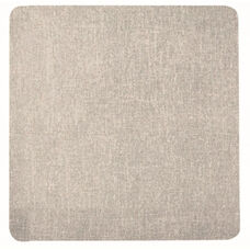 Frameless Burlap Weave Vinyl Display Panel with Radius Corners - Stone - 48