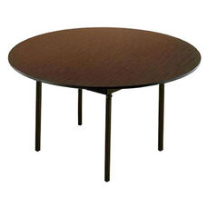 Customizable 720 Series Multi Purpose Round Deluxe Hotel Banquet/Training Table with Plywood Core Top - 72