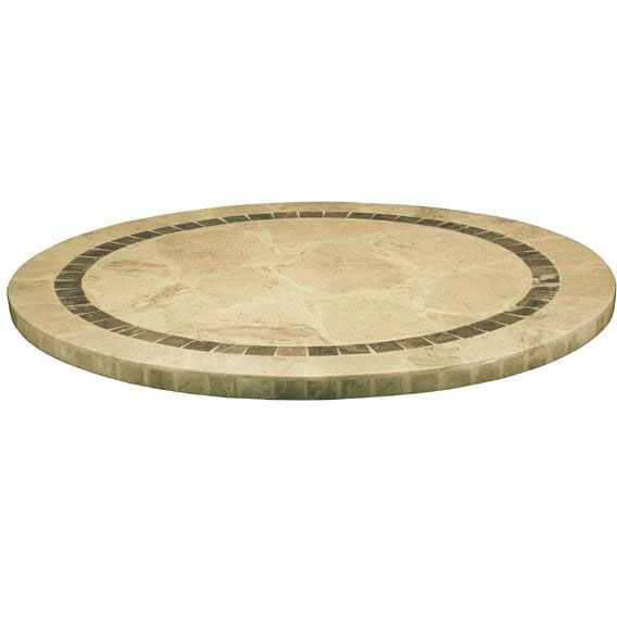 Merveilleux ... Our Atcostone 32u0027u0027 Round Indoor Pastor Stone Table Top   Sand Beige Is  On
