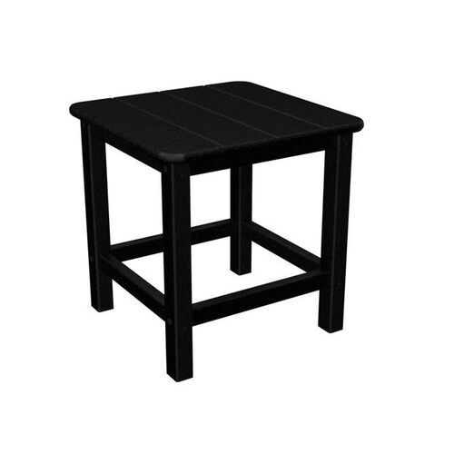 Our POLYWOOD® Commercial Collection Seashell Side Table - Black is on sale now.