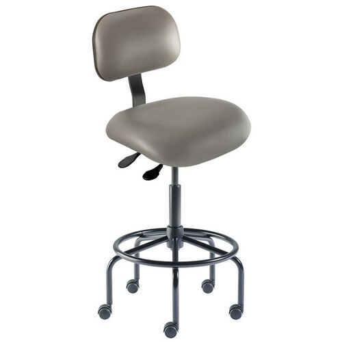 Our Quick Ship Eton Series Chair with Lumbar Support Backrest and Tubular Steel Base - High Seat Height is on sale now.