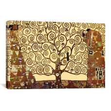 The Tree of Life by Gustav Klimt Gallery Wrapped Canvas Artwork