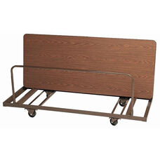 Welded Iron Folding Table Truck for Edge Stacking Rectangular Tables - 28