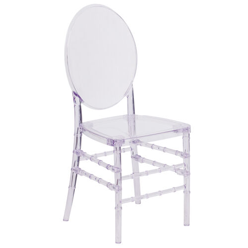 "Our Flash Elegance Crystal Ice Stacking Florence Chair with <span style=""color:#0000CD;"">Free </span> Cushion is on sale now."