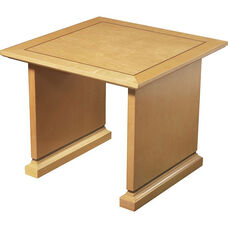 OSP Furniture Mendocino Hardwood Veneer End Table