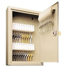 SteelMaster® Uni-Tag Key Cabinet - 30-Key - Steel - Sand - 8 x 2 5/8 x 12 1/8