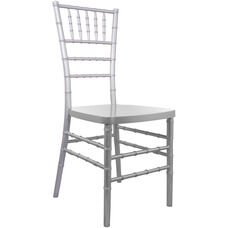 Advantage Silver Resin Chiavari Chair