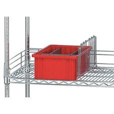 Chrome Welded Wire Shelf Divider
