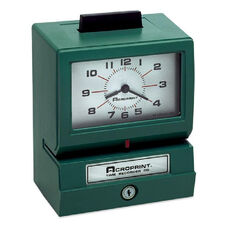 Acroprint Time Recorder Manual Heavy-Duty Time Clock